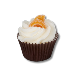 Mini Cupcake Orange Cannelle