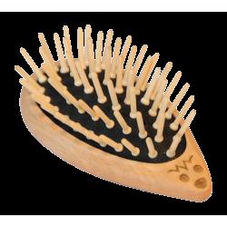 Brosse à cheveux en bois - Hérisson