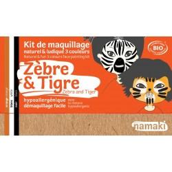 Kit de maquillage Zèbre et Tigre 7,5g