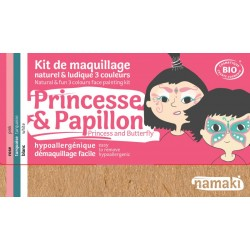 Kit de maquillage Princesse et Papillon 7,5g