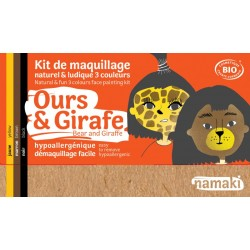Kit de maquillage Ours & Girafe